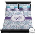 Mandala Floral Duvet Cover Set (Personalized)