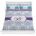 Mandala Floral Comforter Set (Personalized)