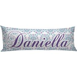 Mandala Floral Body Pillow Case (Personalized)