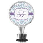 Mandala Floral Wine Bottle Stopper (Personalized)