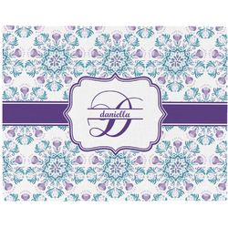 Mandala Floral Placemat (Fabric) (Personalized)