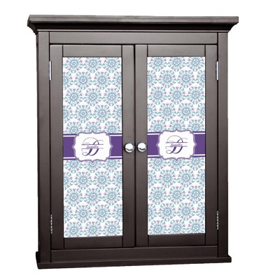 Mandala Floral Cabinet Decal - Small (Personalized)