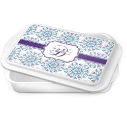 Mandala Floral Cake Pan (Personalized)