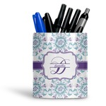 Mandala Floral Ceramic Pen Holder
