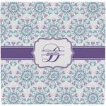 Mandala Floral Ceramic Tile Hot Pad (Personalized)