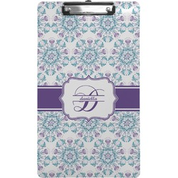 Mandala Floral Clipboard (Legal Size) (Personalized)