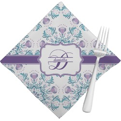 Mandala Floral Napkins (Set of 4) (Personalized)