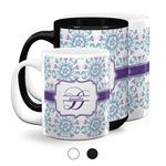 Mandala Floral Coffee Mugs (Personalized)