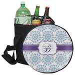 Mandala Floral Collapsible Cooler & Seat (Personalized)