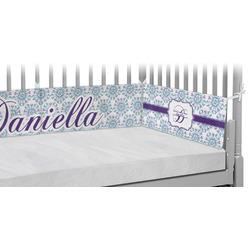 Mandala Floral Crib Bumper Pads (Personalized)