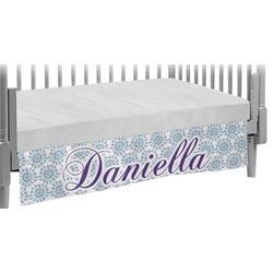 Mandala Floral Crib Skirt (Personalized)