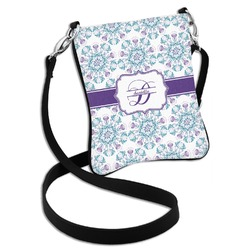 Mandala Floral Cross Body Bag - 2 Sizes (Personalized)