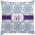 Mandala Floral Decorative Pillow Case (Personalized)