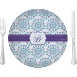 Mandala Floral Glass Lunch / Dinner Plates 10