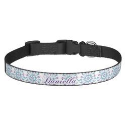 Mandala Floral Dog Collar (Personalized)