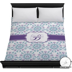 Mandala Floral Duvet Cover (Personalized)