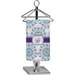 Mandala Floral Finger Tip Towel - Full Print (Personalized)
