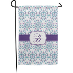 Mandala Floral Garden Flag - Single or Double Sided (Personalized)