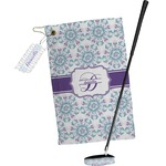 Mandala Floral Golf Towel Gift Set (Personalized)