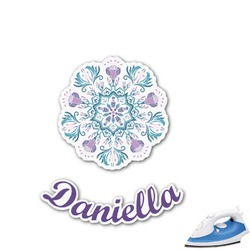 Mandala Floral Graphic Iron On Transfer (Personalized)