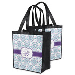 Mandala Floral Grocery Bag (Personalized)