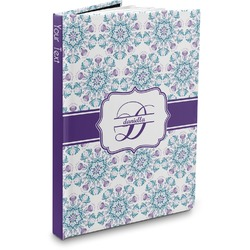 Mandala Floral Hardbound Journal (Personalized)