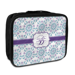 Mandala Floral Insulated Lunch Bag (Personalized)