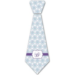 Mandala Floral Iron On Tie (Personalized)