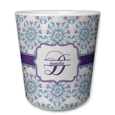 Mandala Floral Plastic Tumbler 6oz (Personalized)