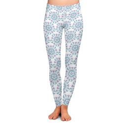 Mandala Floral Ladies Leggings - Extra Large (Personalized)