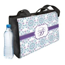 Mandala Floral Ladies Workout Bag (Personalized)