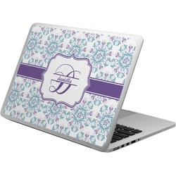 Mandala Floral Laptop Skin - Custom Sized (Personalized)