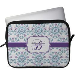 "Mandala Floral Laptop Sleeve / Case - 12"" (Personalized)"