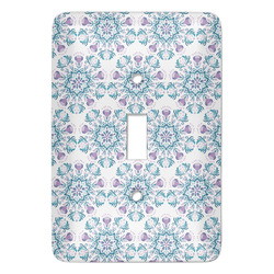 Mandala Floral Light Switch Covers - Multiple Toggle Options Available (Personalized)