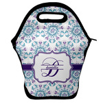 Mandala Floral Lunch Bag w/ Name and Initial