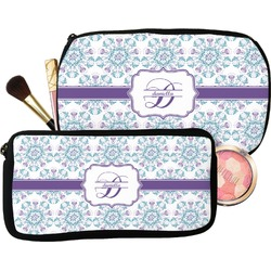 Mandala Floral Makeup / Cosmetic Bag (Personalized)