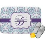 Mandala Floral Memory Foam Bath Mat (Personalized)