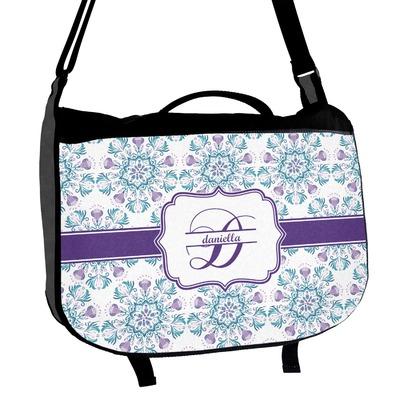 Mandala Floral Messenger Bag (Personalized)
