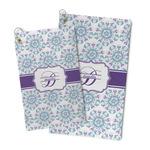 Mandala Floral Microfiber Golf Towel (Personalized)