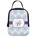 Mandala Floral Neoprene Lunch Tote (Personalized)