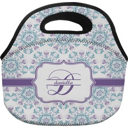 Mandala Floral Lunch Bag (Personalized)