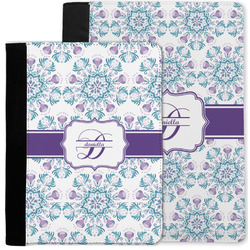 Mandala Floral Notebook Padfolio w/ Name and Initial