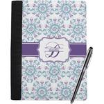 Mandala Floral Notebook Padfolio (Personalized)