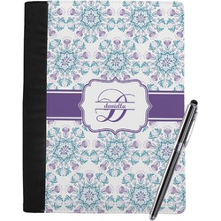 Mandala Floral Notebook Padfolio (Personalized)