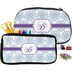 Mandala Floral Pencil / School Supplies Bag (Personalized)