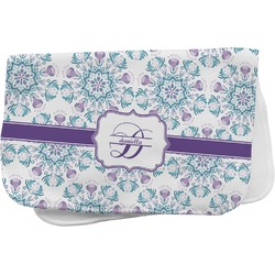 Mandala Floral Burp Cloth (Personalized)