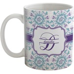 Mandala Floral Coffee Mug (Personalized)