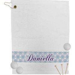 Mandala Floral Golf Towel (Personalized)