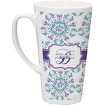 Mandala Floral Latte Mug (Personalized)