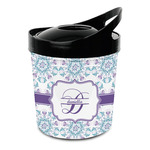 Mandala Floral Plastic Ice Bucket (Personalized)